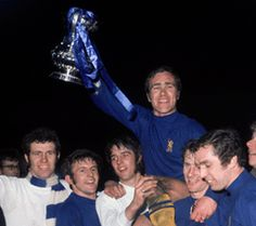 Chelsea win the FA Cup. Beating Leeds United 2-1 in a replay at Old Trafford
