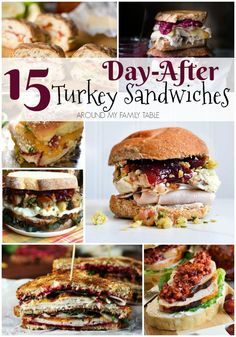 Got leftover turkey? Check out my holiday leftover hacks and make these delicious day-after Thanksgiving sandwiches. #ad #readytoroll #bakedwithcare