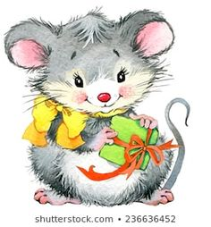 Find Cute Mouse New Year Greeting Card stock images in HD and millions of other royalty-free stock photos, illustrations and vectors in the Shutterstock collection. New Year Greeting Cards, New Year Greetings, Christmas Drawing, Christmas Art, Christmas Animals, Christmas Pictures, Baby Animal Drawings, Cute Mouse, Cute Illustration