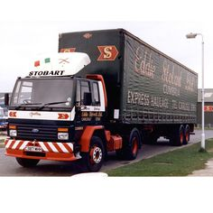 Here we have a Ford Cargo from 1985, parked on Black Dyke Road, Carlisle. Named…