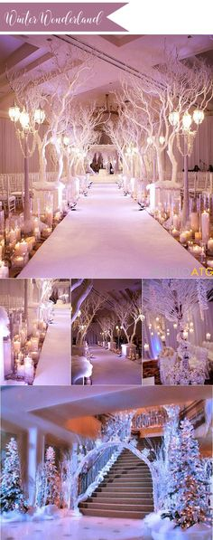 winter wonderland wedding ideas for 2017