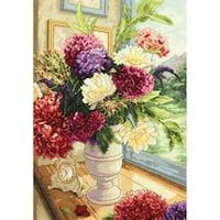 Gold Collection Summer Bouquet Counted Cross Stitch Kit, 11 inch x 14 inch, Cross Stitching, Cross Stitch Embroidery, Cross Stitch Patterns, Bead Patterns, Dimensions Cross Stitch, Cross Stitch Supplies, Counted Cross Stitch Kits, Cross Stitch Flowers, Bouquet