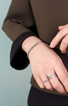 rings and bracelet. AES