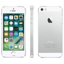 "iPhone 5s Apple 16GB Prata 4G Tela 4"" Retina - Câmera 8MP iOS 10 Proc. M7 Touch ID"