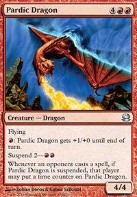Pardic Dragon, Magic, Modern Masters