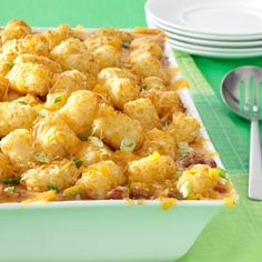 Mexican Tater-Topped Casserole Recipe | Taste of Home Recipes