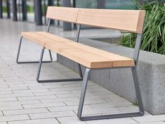 Campus levis Bench extending module by Westeifel Werke Exterior benches Iron Furniture, Street Furniture, City Furniture, Cheap Furniture, Industrial Furniture, Modern Furniture, Furniture Design, Outdoor Furniture, Outdoor Decor