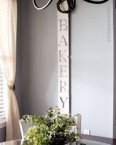 DIY Bakery Sign