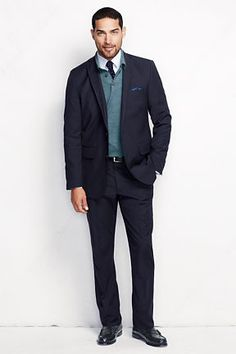 Men's Tailored Fit SmartLuxe Sportcoat from Lands' End