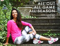 All out All Game  All Season.  Check out Yaffa's Hot Pink and Stormy Night print this Fall!