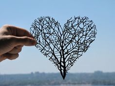Wow your love with this beautiful & intricate artwork. <3 Branches Heart Handmade Original Papercut by DreamPapercut