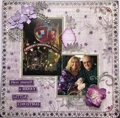 Hi+everyone,+Denise+here+with+another+layout+using+the+Christmas+Jewel+Kaisercraft+Collection.+I+started+by+using+a+sheet+of+Licorice+Kaisercard+as+my+base.+Next+I+took+a+sheet+of+Carols+paper+(+the+music+note+side+)+and+used+a+snowflake+punch+to+go+around+the+edges+and++…click+to+read+more
