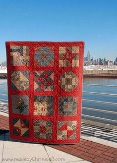 Quilters blog. Madebychrissied.com Petite Odile collection