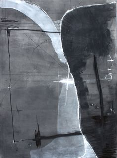 "Federico Saenz, ""Beauty, Love, Honesty, Fun"", acrylic, graphite, pastel on canvas"