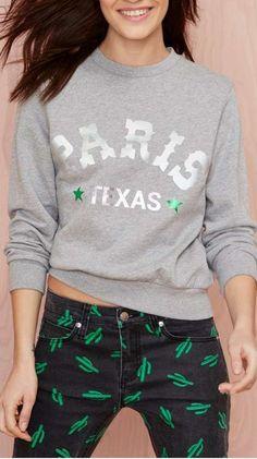 paris texas sweatshirt