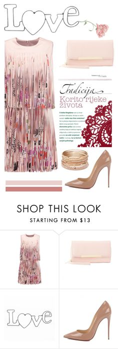 """Best Dressed Guest: Barn Weddings"" by burpy ❤ liked on Polyvore featuring Alexis, Charlotte Russe, Christian Louboutin, Red Camel and rustic"