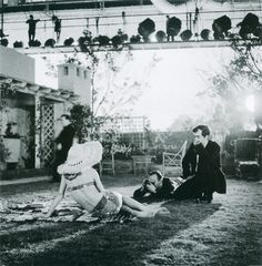 On the set of 'Lolita'