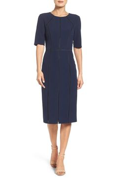 3fc16971cc8 online shopping for Maggy London Solid Dream Crepe Dress (Regular   Petite)  from top store. See new offer for Maggy London Solid Dream Crepe Dress  (Regular ...