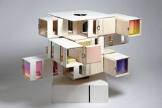 Casa de muñecas de diseño - Ebom   Ebom