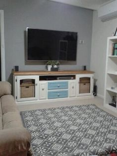 Colleen...you've done it again. The #chalkpaintedentertainmentunit looks amazing!