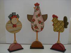 Trio de Galinhas   par POIESIS - Mogi das Cruzes