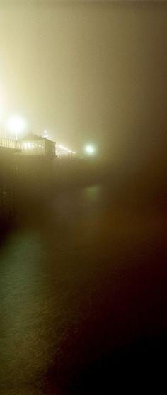 foggy night.