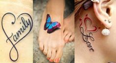 little tattoos for women: The most beautiful motifs for your subtle tattoo - Tattoo Ideas & Trends Tattoo Designs For Girls, Small Tattoo Designs, Tattoos For Women Small, Tattoo Designs Men, Small Tattoos, Subtle Tattoos, Trendy Tattoos, Unique Tattoos, Cool Tattoos