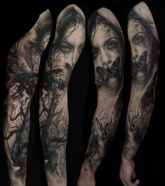 <p>Germany-based Florian Karg creates realistic tattoos. His dark, creepy art will blow your mind! Florian Karg says he has been fascinated by realistic tattoos from the beginning. His work has been influenced by other tattoo artists that he feels inspired by – like Milosch and Andy Engel. But with time …</p>