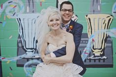whimsical pittsburgh opera wedding // via ruffledblog.com
