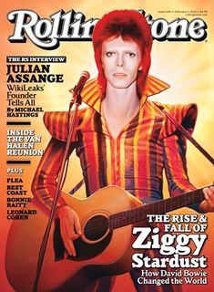 Bowie brings pomp and circumstance and all things decadence to Rolling Stone. Majorly influential man. Nice jacket, too.