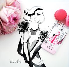 Enter this competition to win this Kerrie Hess phone case & special edition print from The Dairy. www.thedairy.com #iphonecase #samsunggalaxy #iPhone6Case #KerrieHess #iPhone6 #TheDairy