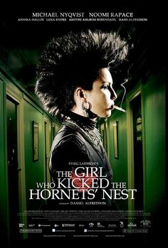 The Girl Who Kicked The Hornets´ Nest...i recommend watching all of the Swedish versions