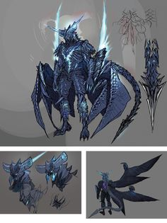 View an image titled 'Vergil Sin Devil Trigger Concept Art' in our Devil May Cry 5 art gallery featuring official character designs, concept art, and promo pictures. Fantasy Character Design, Character Design Inspiration, Character Concept, Character Art, Guerrero Dragon, Vergil Dmc, Dante Devil May Cry, Monster Concept Art, Accel World