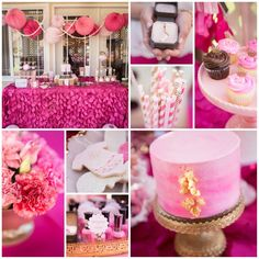 Juicy Couture Baby Shower with So Many Darling Ideas via Kara's Party Ideas | KarasPartyIdeas.com #JuicyCoutureParty #GirlParty #PartyIdeas ...