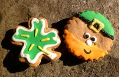 new in store: Leprechaun/Shamrock Cookie Duo. www.masnax.com