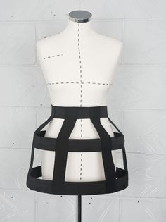bandage urban cage skirt - quirky couture Created by freyagushi @ Etsy