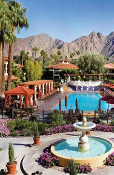 Miramonte Resort & Spa, California - 10 relaxing health retreats around the world Southern California Resorts, Palm Springs California, Health Retreat, Yoga Retreat, Romantic Places, Beautiful Places, Places Around The World, Around The Worlds, Vacation Destinations