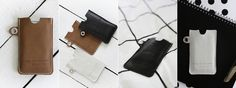 Finnish Gedigo products, made from reindeer leather. Stylish covers for smart phones and tablets.