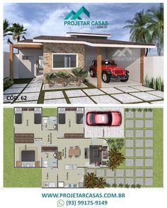 Bungalow Floor Plans, Apartment Floor Plans, Bungalow House Design, House Floor Plans, Simple Floor Plans, Simple House Plans, Dream House Plans, My Dream Home, Home Building Design