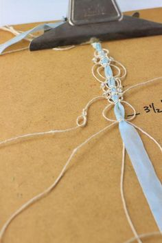 Gorgeous and simple! macrame over silk ribbon (well, okay, I haven't actually tried it yet but it looks simple enough......)