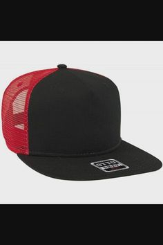 Shop Square Flat Visor SNAP 5 Panel Mesh Back Trucker Snapback Hat - Blk/Blk/Red now save up 50% off, free shipping worldwide and free gift, Support wholesale quotation! Cool Baseball Caps, Baseball Hats, Boy Scouts, Snapback Hats, Quotation, Free Gifts, Cool Stuff, Stuff To Buy, Mesh