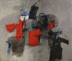 Afro, Tavola rotonda (1966), via Artsy.net