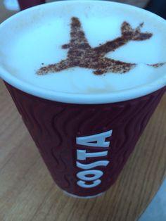 costa #coffee airport