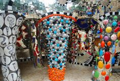 Giardino dei Tarocchi by Niki De St. Phalle. Rome