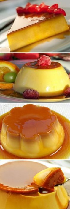 ¿Estas a dieta? Este flan de vainilla sin azúcar saciará tus antojos. #flan #postres #dieta #vainilla #sinazucar #antojos #flanes #budin #pudin #proteico #fitness #dulces #cheesecake #cakes #pan #panfrances #panettone #panes #pantone #pan #recetas #recipe #casero #torta #tartas #pastel #nestlecocina #bizcocho #bizcochuelo #tasty #cocina #chocolate Si te gusta dinos HOLA y dale a Me Gusta MIREN... Low Calorie Recipes, Diabetic Recipes, Healthy Recipes, Delicious Desserts, Yummy Food, Flan Recipe, Different Recipes, Creme, Cake Recipes