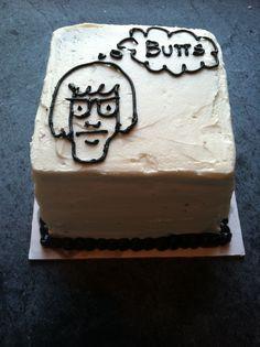 Chocolate cake//vanilla buttercream (vegan) http://katecassels.com/