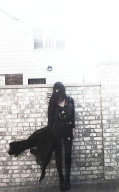black. alternative style