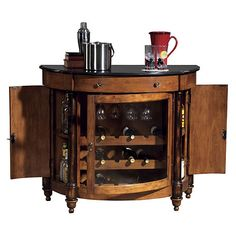 Howard Miller Merlot Valley Wine Console at Wine Enthusiast - $1,319.00
