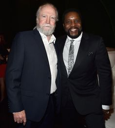 February 3rd - Scott Wilson & Chad Coleman at premier Amazon's first original drama series 'Bosch' at Lure Hollywood in Hollywood - I was originally looking at the photos because I know Annie Werching, and then I saw Scott and Chad. Eeeeeee!!