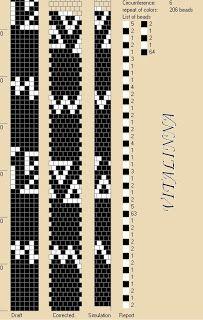 """VITALINNA: Mes colliers au crochet: 2 - Collier """"ethnique"""""""